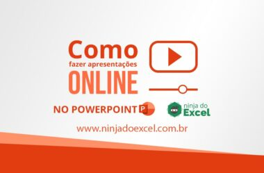 Apresentação online no PowerPoint