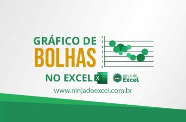 Gráfico de Bolhas no Excel