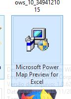 Arquivo para instalar o gráfico de mapa no Excel