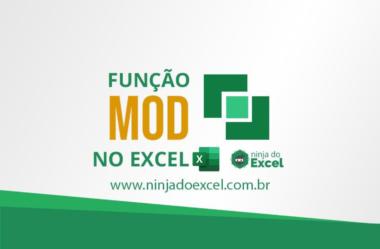 Função MOD no Excel