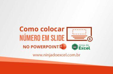 Como colocar número em Slide no PowerPoint