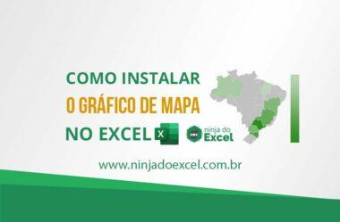 Como instalar o gráfico de mapa no Excel 2013