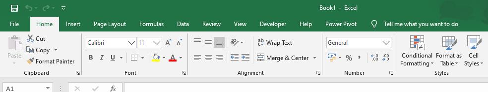 Alteração de idioma no Excel para Inglês
