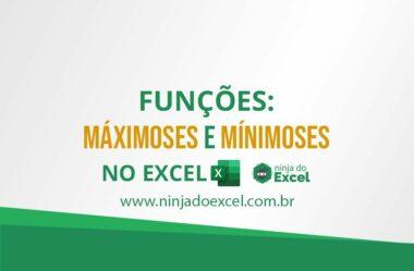 Funções MÁXIMOSES e MÍNIMOSES no Excel