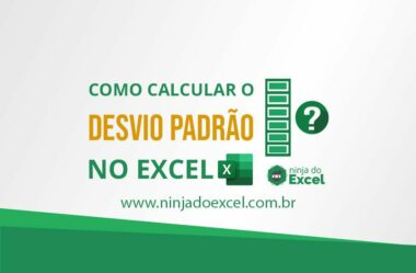 Calculando o Desvio Padrão no Excel