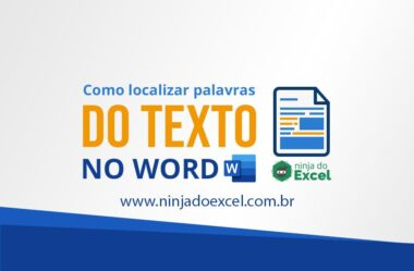 Localizar texto no Word