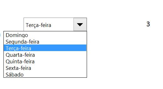 Caixa de combinação de controles activeX no Excel