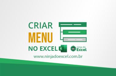 Como Criar um Menu no Excel para Navegação