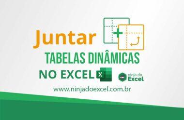 Como Juntar Duas Tabelas Dinâmicas no Excel