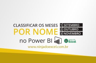 Como Classificar os Meses pelo Nome no Power BI