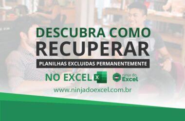 Como RECUPERAR Planilha de Excel Excluída PERMANENTEMENTE | Passo a Passo
