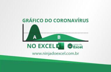 Como Criar um Gráfico do Coronavirus no Excel Atualizado